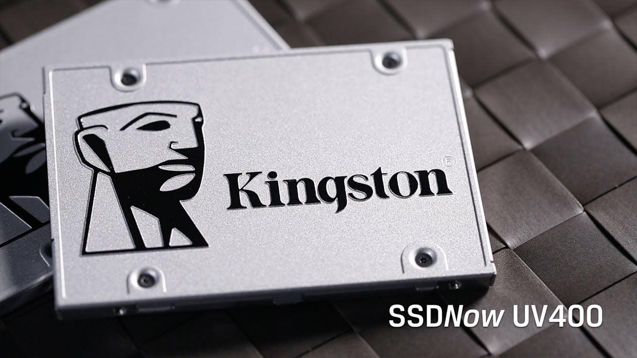 Thế hệ ổ cứng SSDNow UV400 mới từ Kingston
