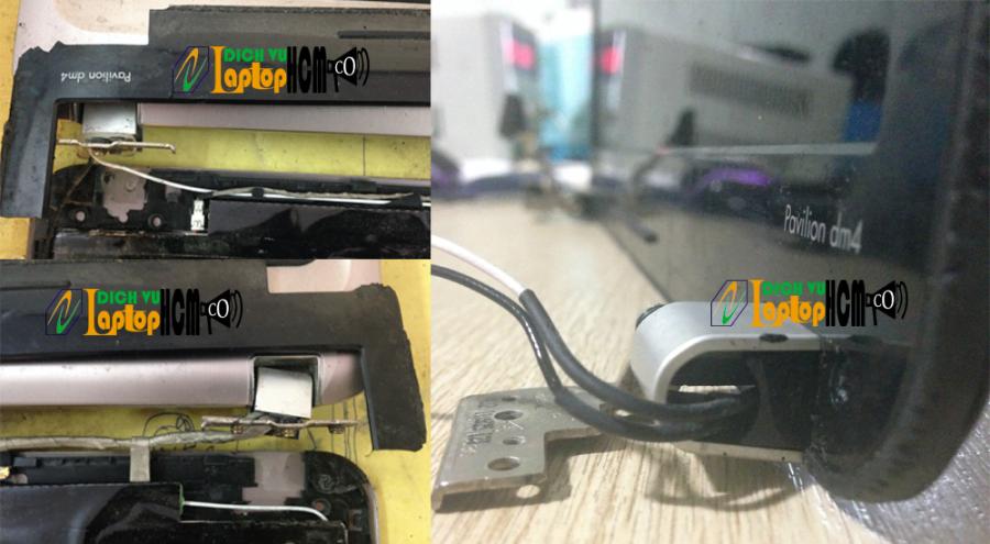 HP Pavilion dm4: Phục hồi vỏ laptop-Sửa bản lề laptop