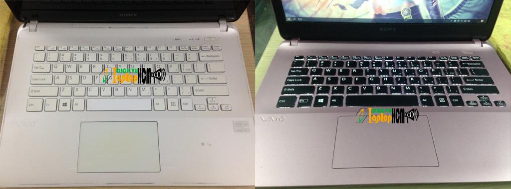Sony Vaio SVF142: Sơn mới - Làm đẹp laptop theo ý thích