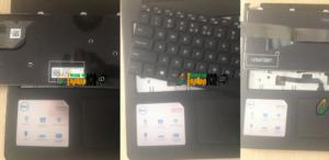 [Tân Trang Laptop] dell inspiron 3558 i5-Sơn-Ổ Cứng-Pin-Bàn Phím