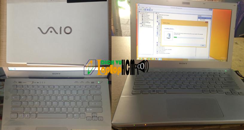 Sony svt131 Core i5: Sơn mới vỏ laptop, màu zin như mới