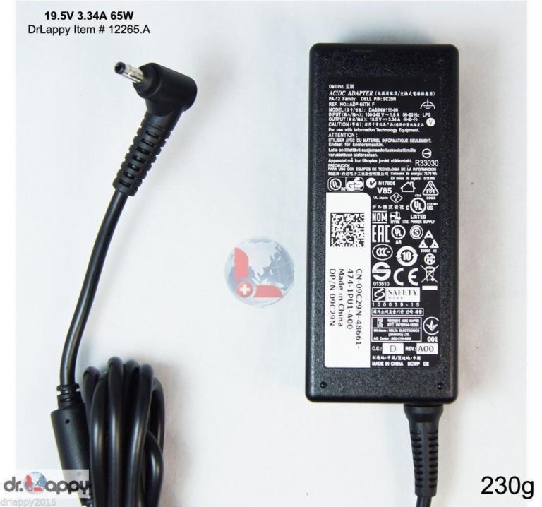 Adapter-Sạc Dell 19.5v-3.34a (Vostrol 5460 5470 5480 5560 5570 5580)
