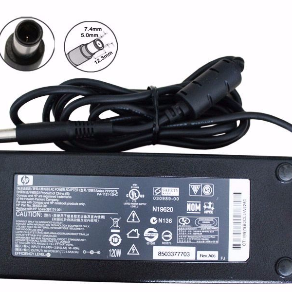 Adapter-Sạc HP 18.5V-6.5A (120W) (Đầu Kim)