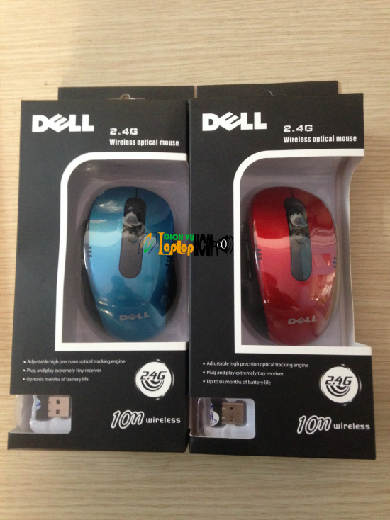 Chuột Không Dây Dell 2.4G Wireless Optical Mouse Laptop