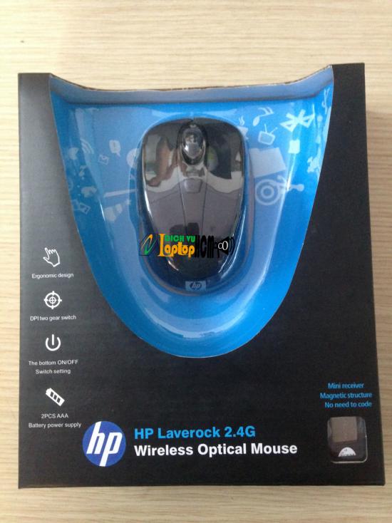Chuột Không Dây HP Laverock 2.4G Wireless Optical Mouse Laptop