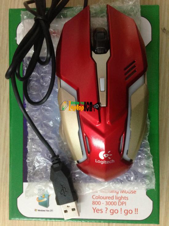 Chuột USB Logitech V800 Gaming Mouse Laptop-1