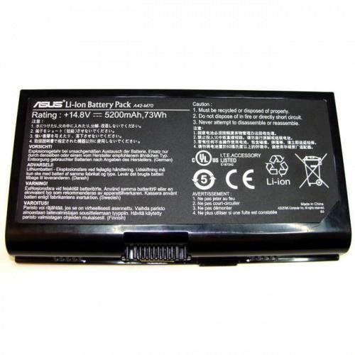Pin Asus M70v X71 G71 X72 N70sv