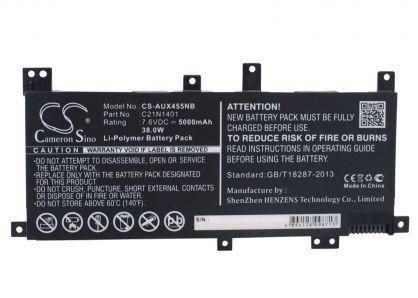 Pin Asus X455la X455la -ZIN