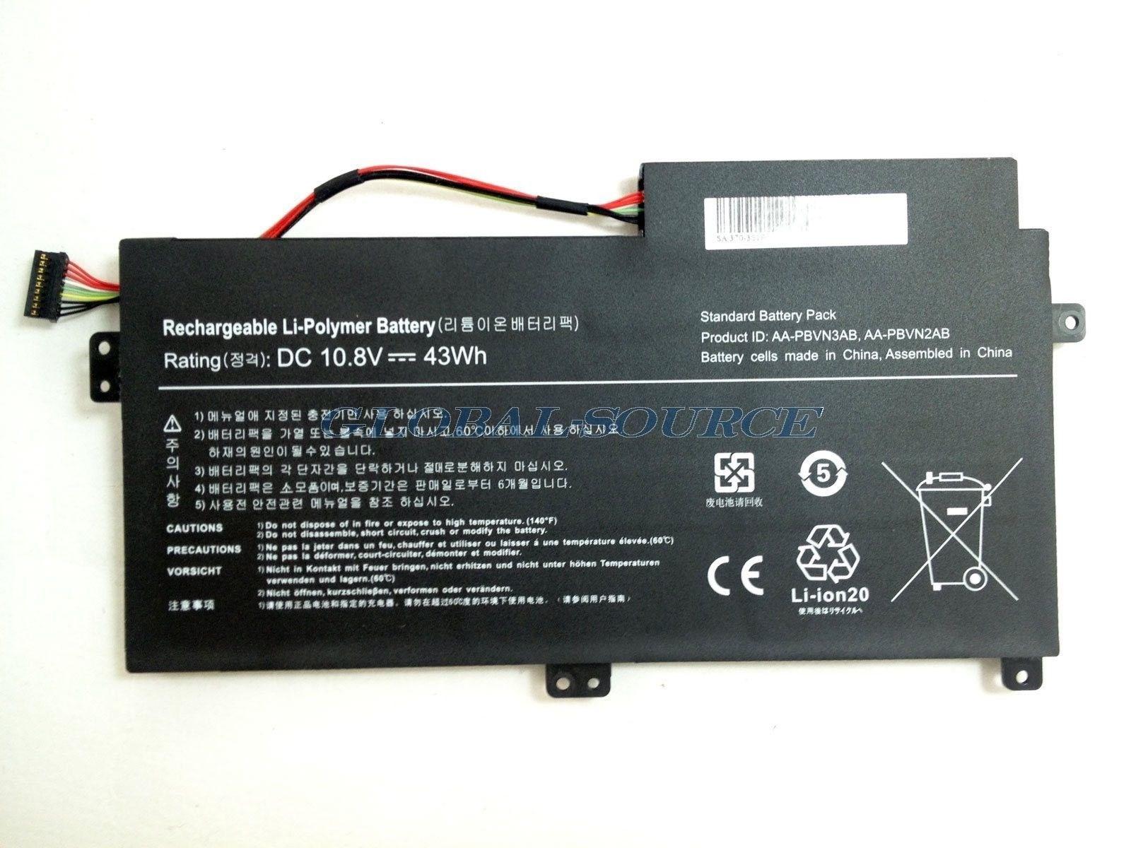 Pin Np370r4e (10.8v) Samsung Np370r4e Np370r5e Np450r4e Np450r5e Np510r5e -ZIN