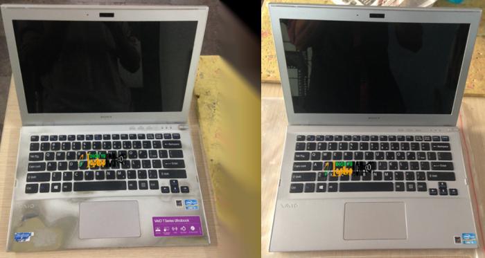 Tân Trang Vỏ Laptop Sony svt13135cxs-1