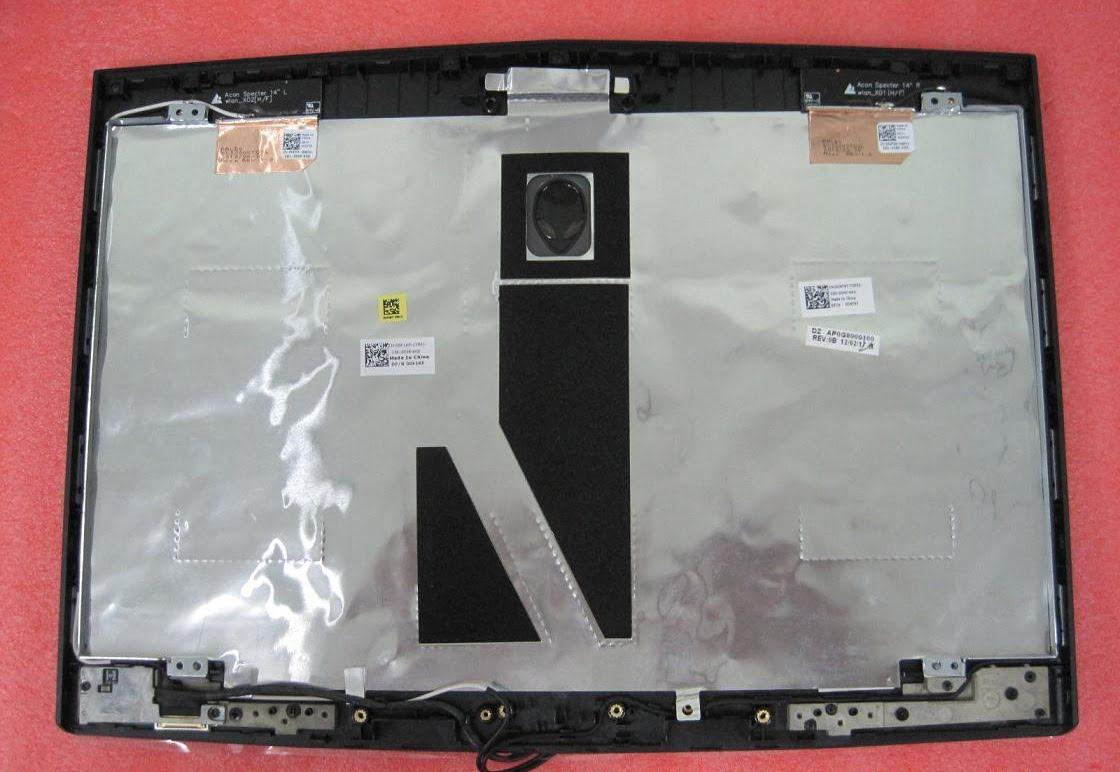 Vỏ Laptop Alienware M14x (Mặt Nắp)