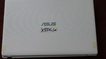 Vỏ Laptop Asus X551l (Màu Trắng