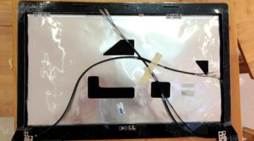 Vỏ Laptop Dell Studio 1558 Led Lcd (Mặt Nắp