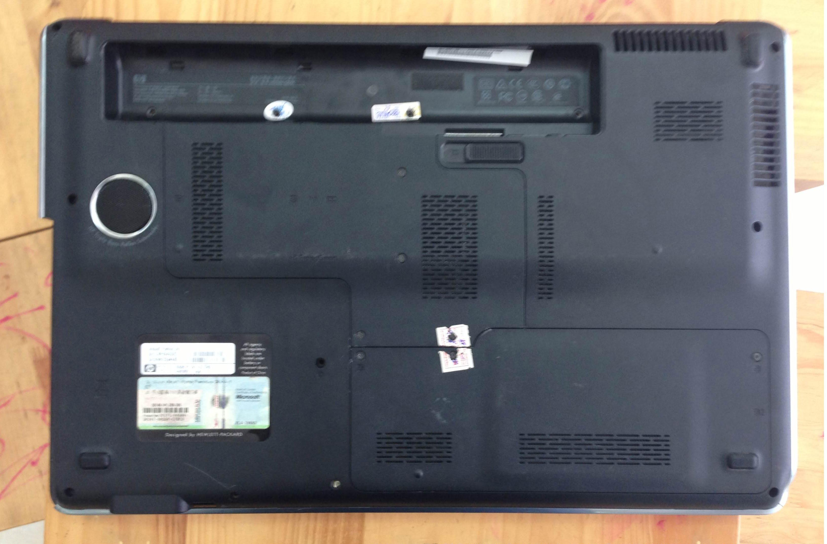 Vỏ Laptop HP Pavilion Dv7 (Mặt Đáy)