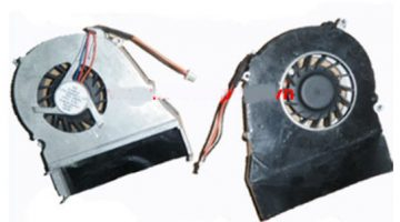 Fan-Quạt Tản Nhiệt Cpu HP Compaq Presario Cq510 Cq511 Cq610 Cq615 Series