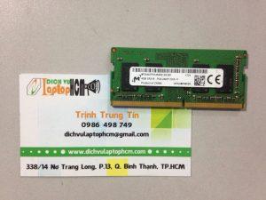 Thay Ram Laptop DDR3L-PC3L-4GB-8GB, DDR4-PC4-4GB TPHCM 2018