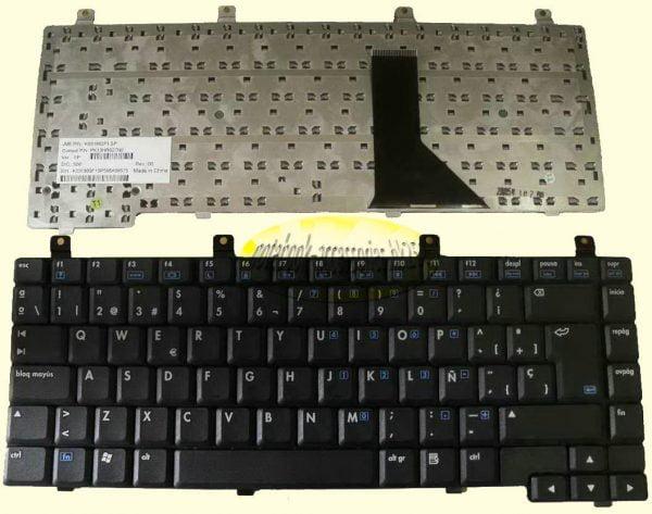 Ban-Phim-Laptop-HP-Compaq-Presario-Nx9100-C300-C500-R3000-R3100-R3200-R3300-R3400-(Ðen)