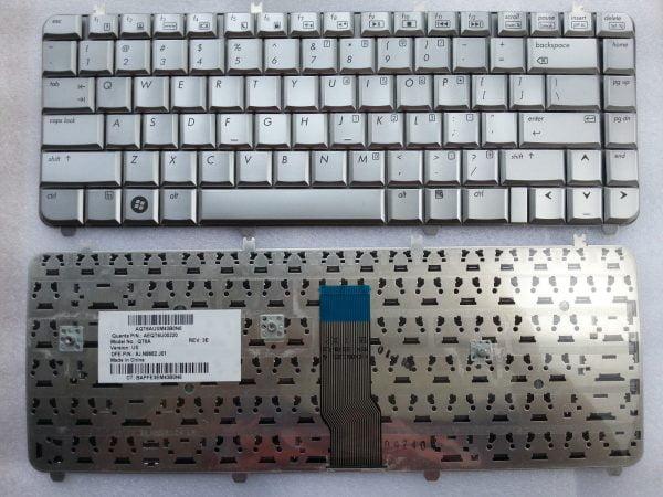 Ban-Phim-Laptop-HP-Pavilion-Dv5-1100-(Trang)