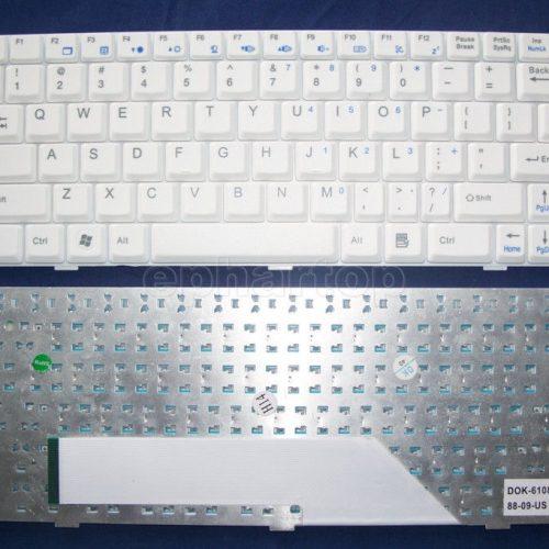 Ban-Phim-Laptop-MSI-U100-trang