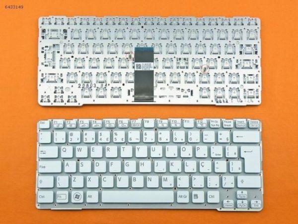 Ban-Phim-Laptop-Sony-Sve14-Mau-Trang-Co-Khung