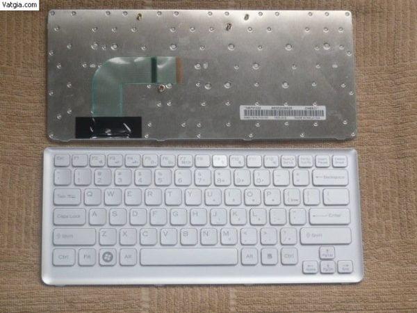Ban-Phim-Laptop-Sony-Vgn-Cs-Series-Mau-Trang-Tieng-Anh