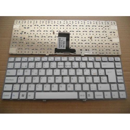 Ban-Phim-Laptop-Sony-Vpc-ea-Series-Mau-Trang-Co-Khung