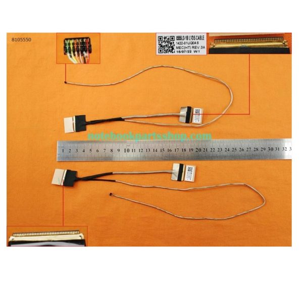 Cap-Man-Hinh-Asus-A555l-F555l-K555l-R556l-X554l-X555ld-Y583l-40pin-Screen-Cable
